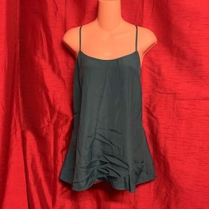 J. Crew Green Camisole Size 12